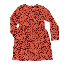 CarlijnQ CarlijnQ Spotted Animal Dress Longsleeve
