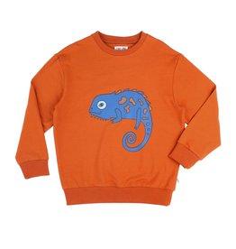 CarlijnQ CarlijnQ Chameleon Boy Sweater with Print