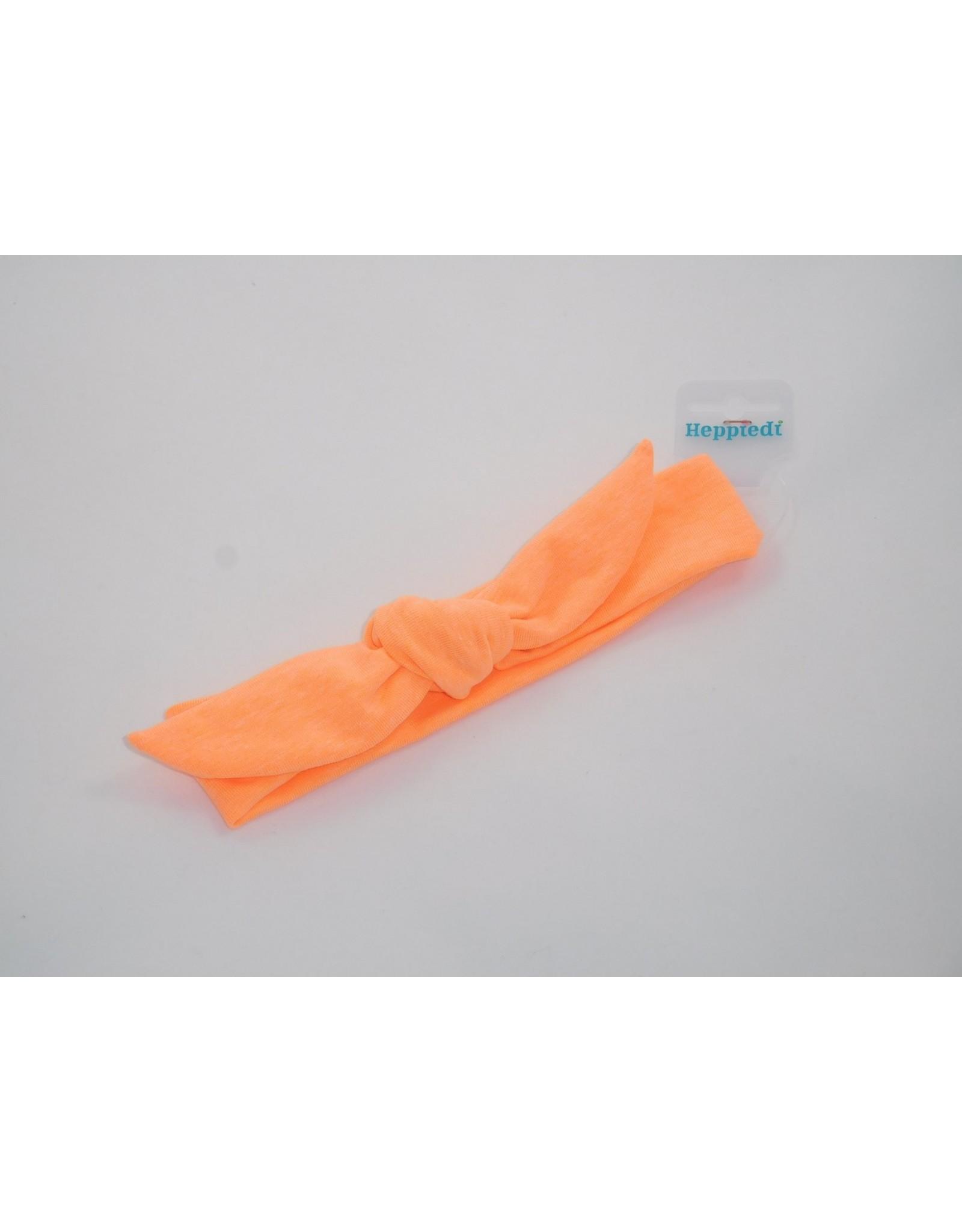 Heppiedi Heppiedi Knoophaarband Neon Oranje