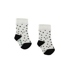 "Little Bampidano Bampidano- New Born Socks-""Black"""