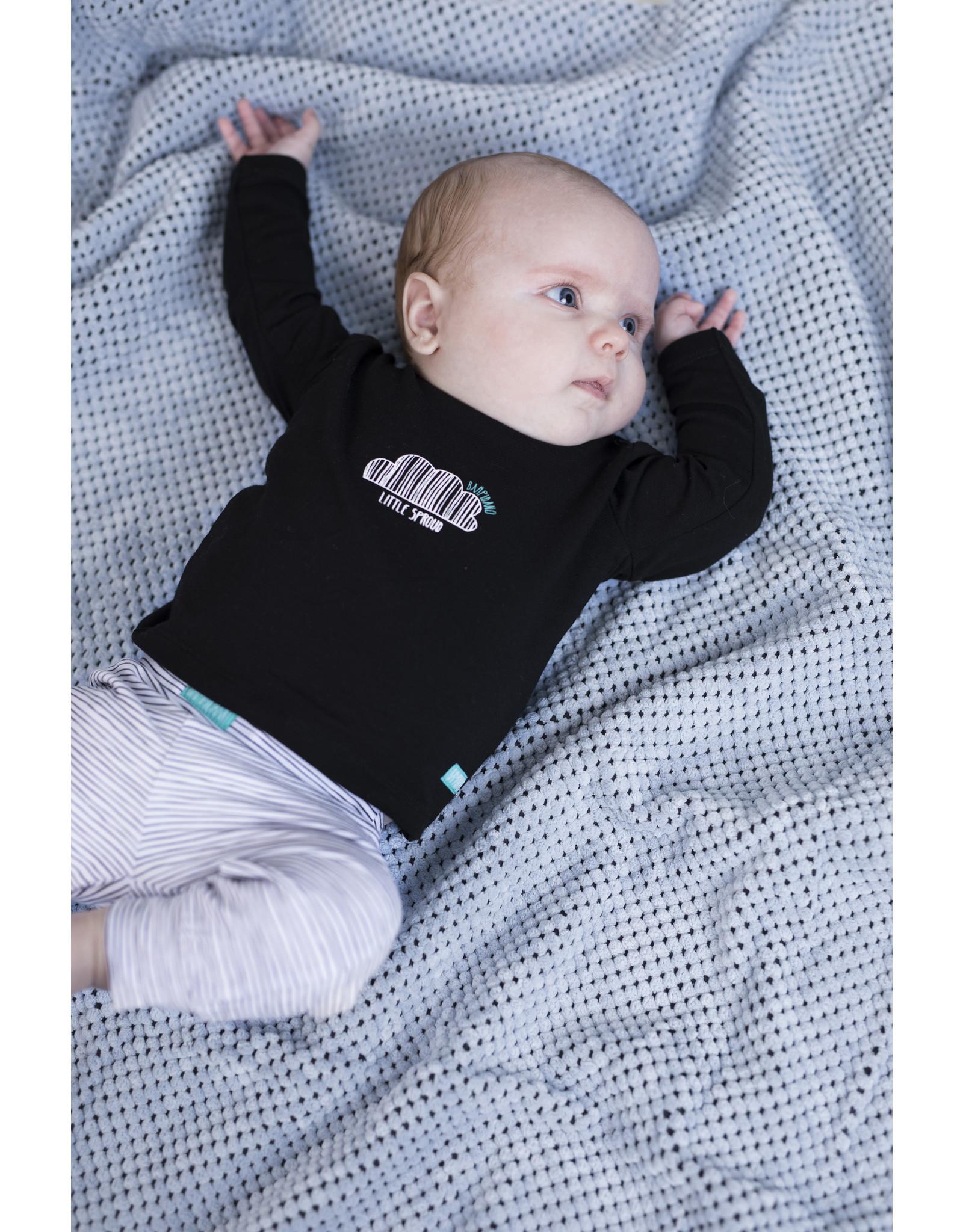 "Little Bampidano Bampidano-Trousers Printed Stripe AOP-""Black"""