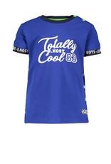 "B.Nosy B.Nosy- Baby Boys SS With Contrast Sleeve-End-""Cobalt Blue"""