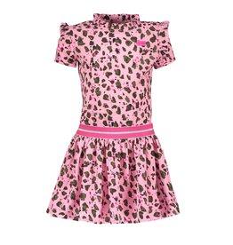 "B.Nosy B.Nosy-Girls Dress LeoAnd AO Ruffle ""Mili Army"""