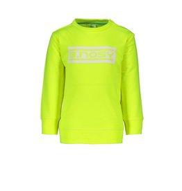 "B.Nosy B.Nosy-Baby Boys Fluo Sweater-""Safety Yellow"""