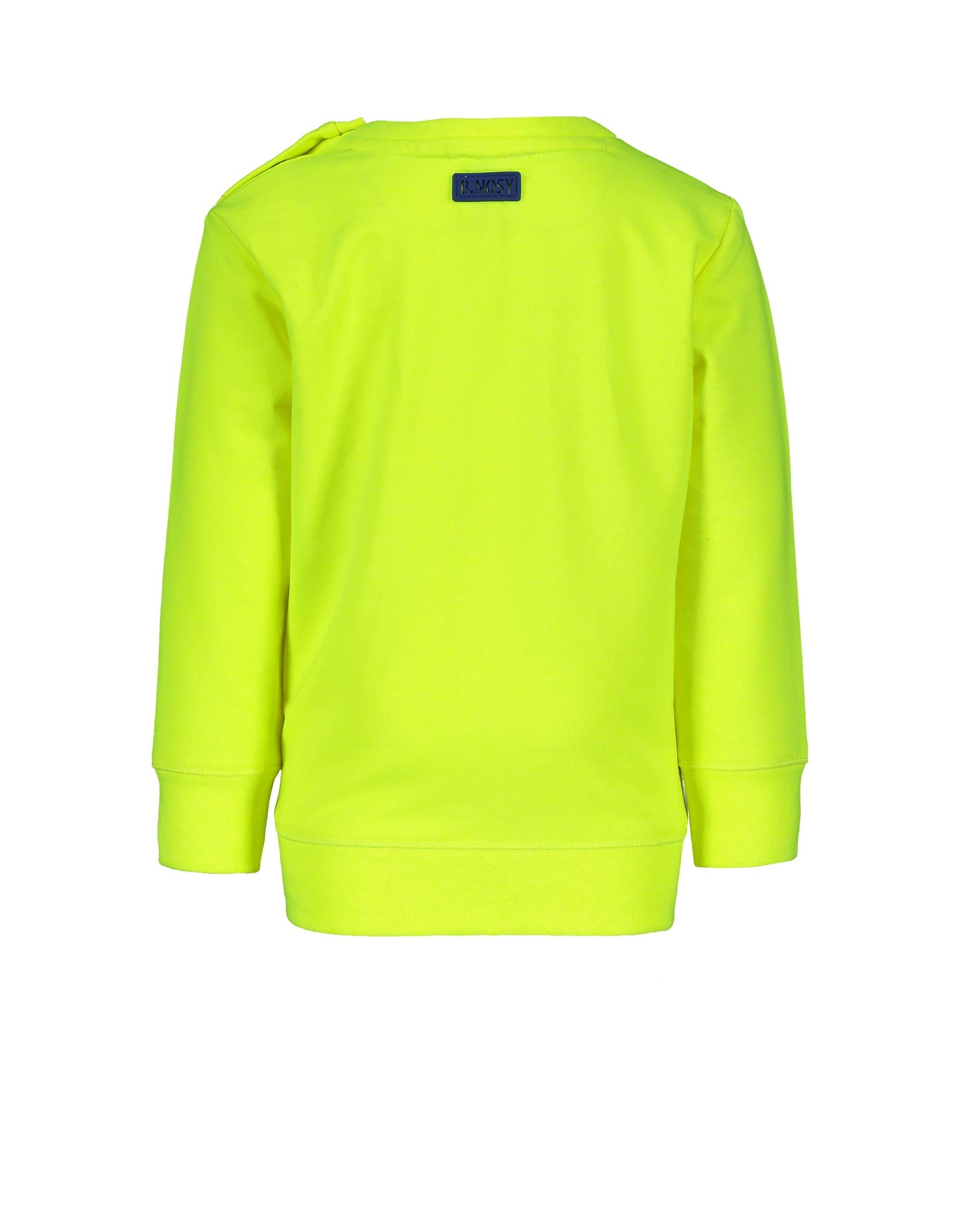 "B.Nosy B.Nosy-Baby Boys Fluo Sweater-""Safety Yellow"""