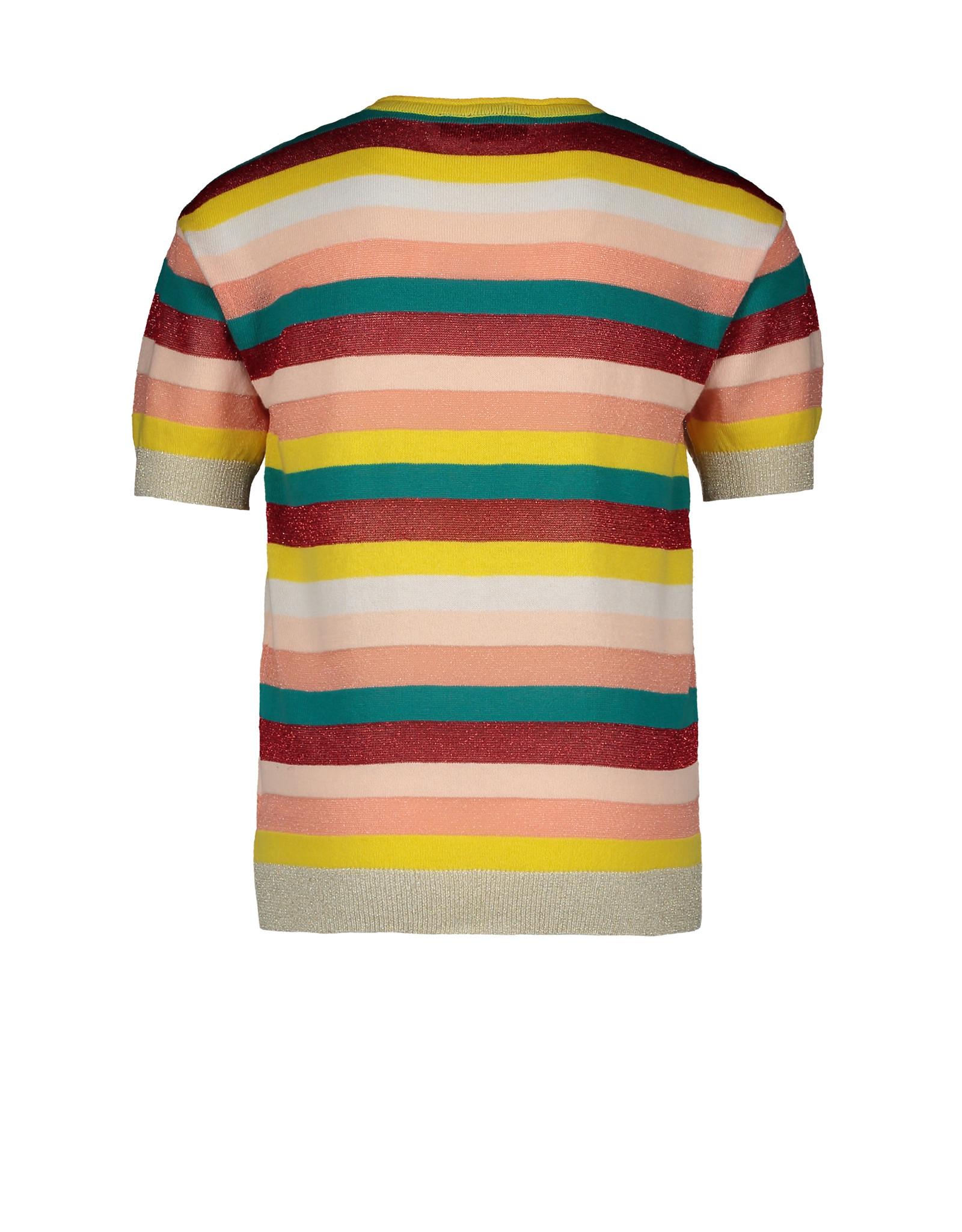 "Like Flo Like Flo-Girls Knitted Striped Top-""Stripe"""