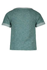 "Like Flo Like Flo-Girls Melee Sweat Knotted Top-""Turquoise"""