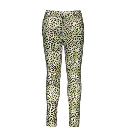 "Like Flo Like Flo-Girls Fancy Satin Denim Skinny-""Animal"""