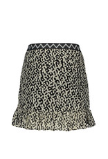 "Like Flo Like Flo-Girls AO Woven Ruffle Skirt-""Graphic"""