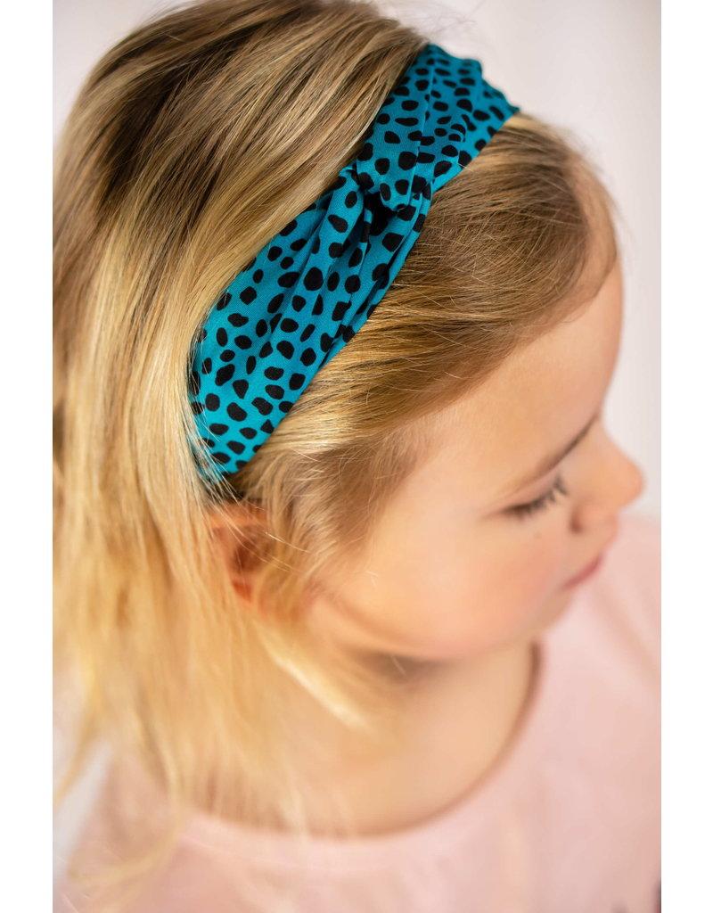 """Like Flo Like Flo-Girls Hairband-""""Turquoise"""""""