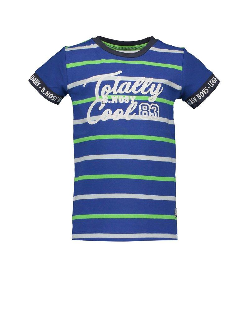 """B.Nosy B.Nosy-Boys Shirt-""""Cobalt Stripe"""""""