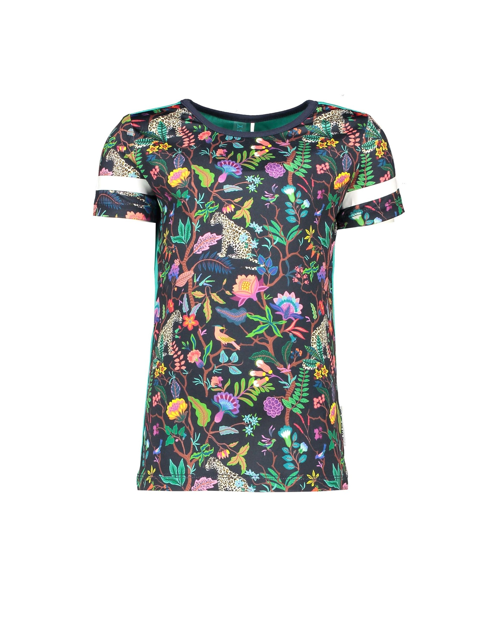 "B.Nosy B.Nosy-Girls Shirt AOP Jungle-""Jungle Girls"""
