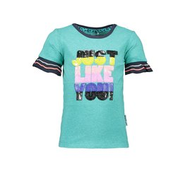 "B.Nosy B.Nosy-Girls Shirt Glitter Jersey-""Ceramic"""