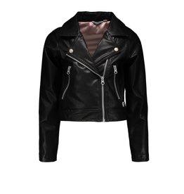 """Moodstreet Moodstreet- MT Fake Leather Jacket-""""Black"""""""
