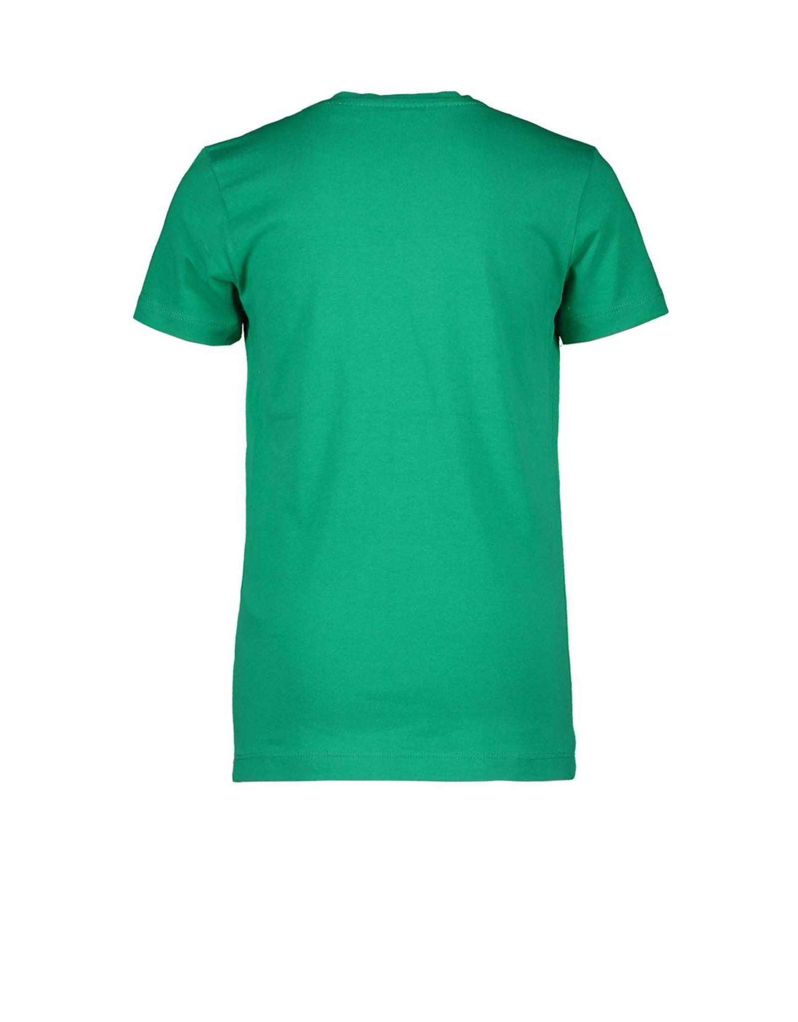 """Moodstreet Moodstreet-MT T-Shirt Chestprint-""""Green"""""""