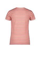 "Moodstreet Moodstreet- MT T-Shirt Stripe-""Red"""