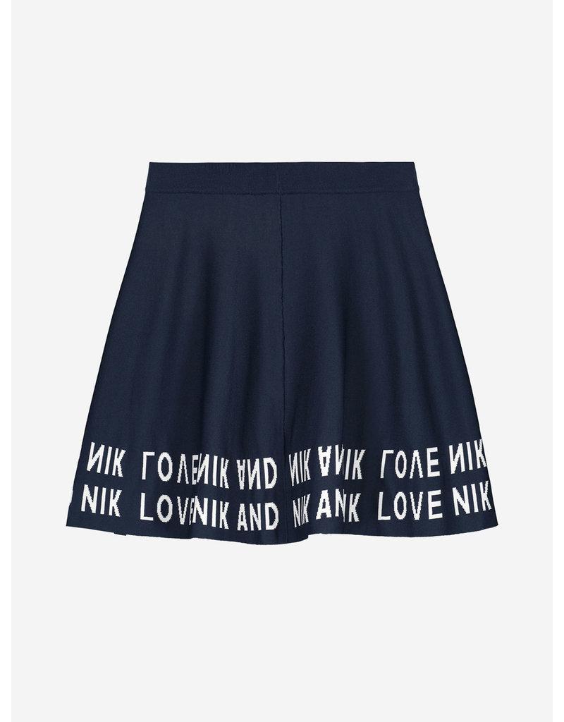 Nik&Nik NIK&NIK Juniper Skirt  Royal Blue
