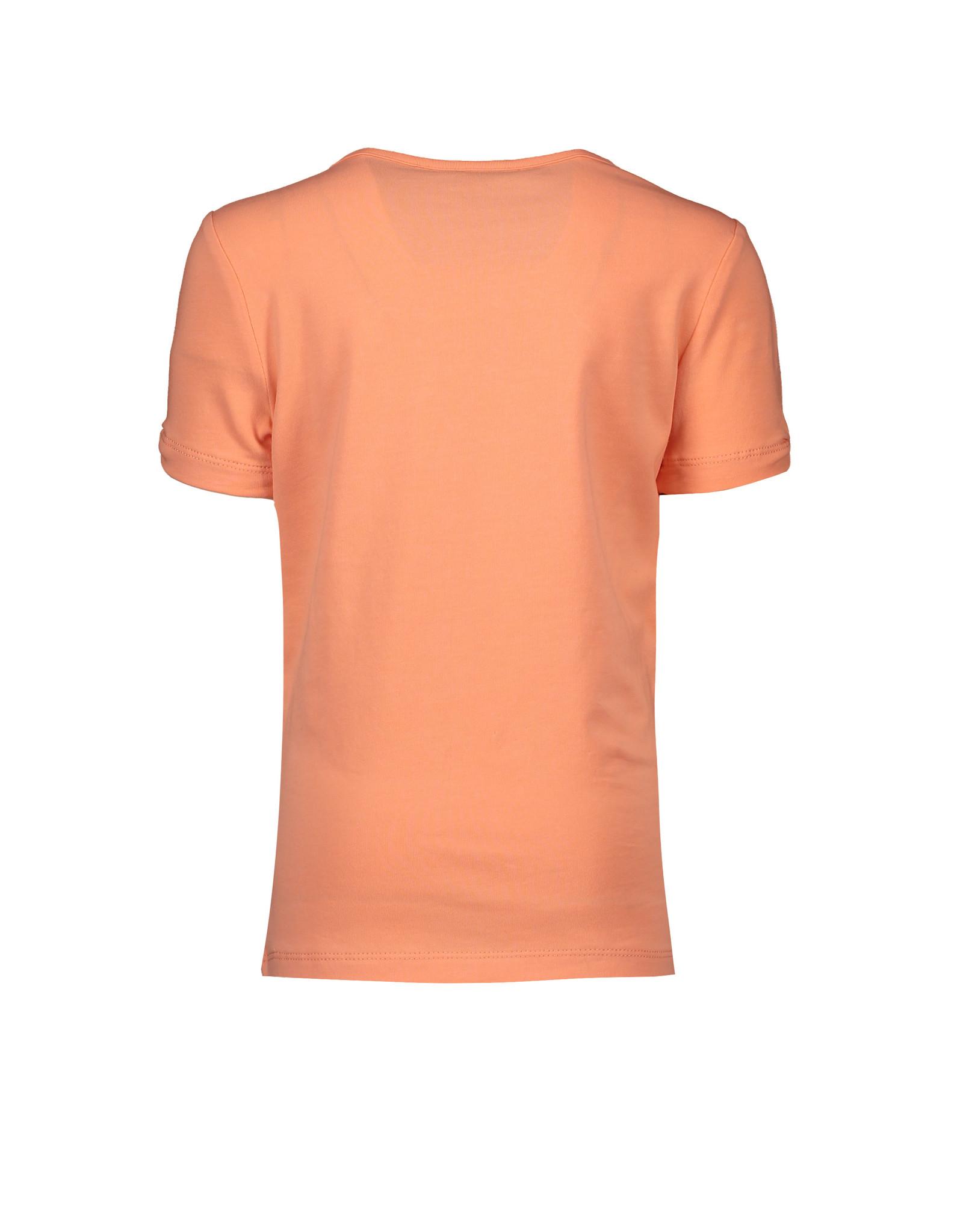 """NONO NONO-Kua Shirt NoNo Days Print-""""Coral"""""""