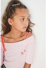 "NONO NONO-Karly Coldshoulder T-Shirt-'Pink Lady"""