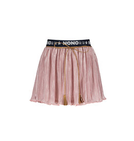 "NONO NONO-Pleated Skirt Branded Waistband-""Pink Lady"""