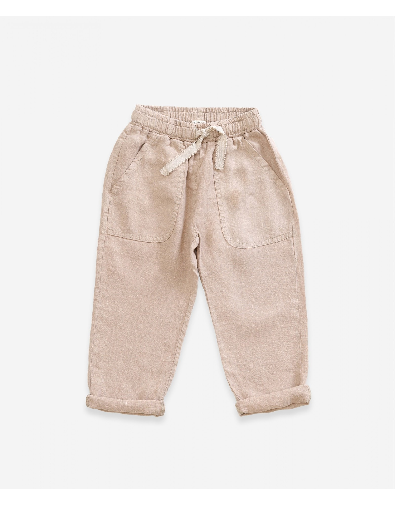 Play Up Play Up Linen Trousers Jute
