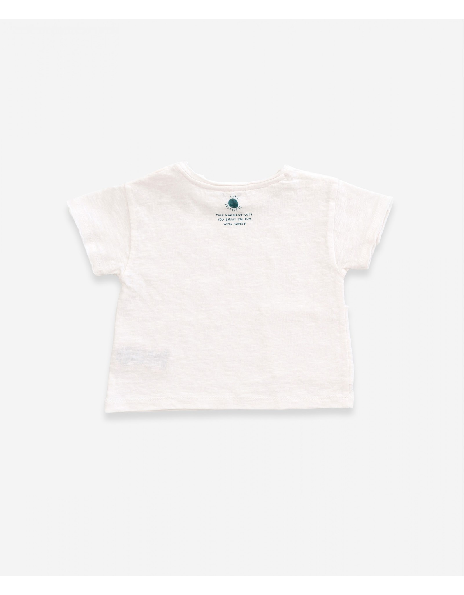 Play Up Play Up Flame Jersey T-shirt Anti-UV Pearl