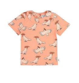 CarlijnQ CarlijnQ Parrot T-shirt Collar