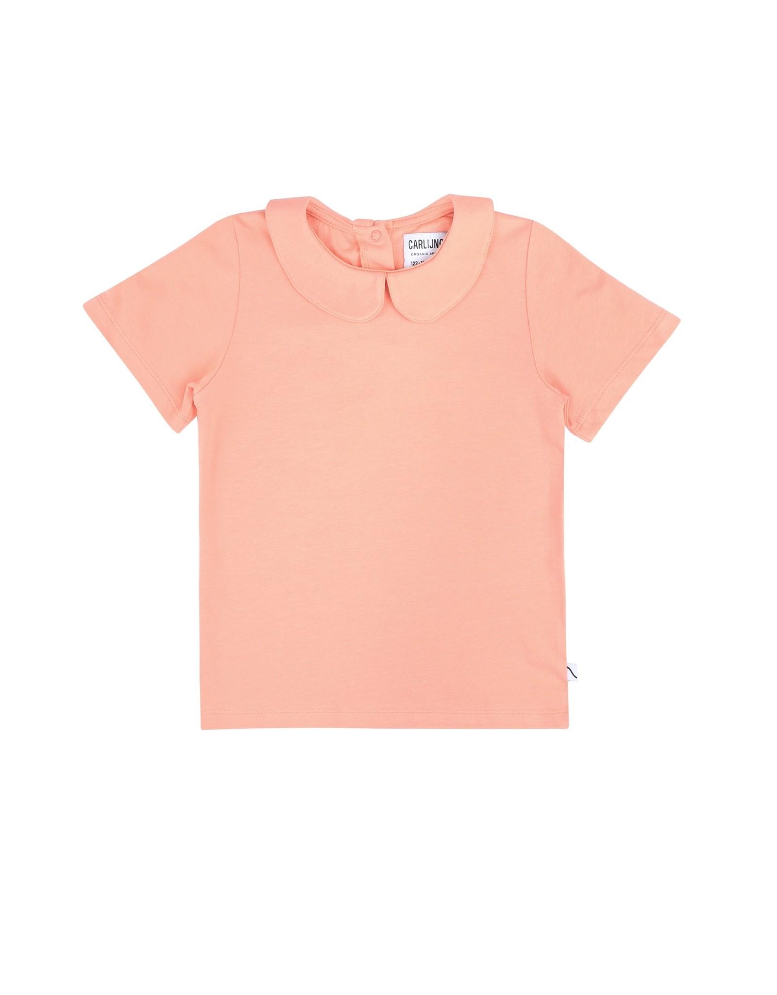 CarlijnQ CarlijnQ Basics T-shirt Collar Pink