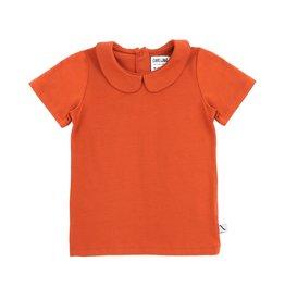 CarlijnQ CarlijnQ Basics T-shirt Collar Cinnamon