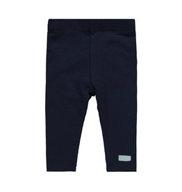 "Little Bampidano Bampidano-New Born Legging Plain-""Navy"""