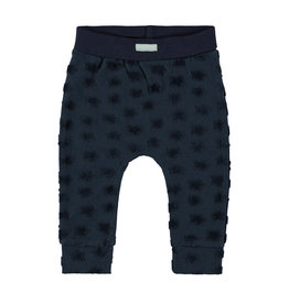 "Little Bampidano Bampidano-New Born Trousers Plain-""Navy"""