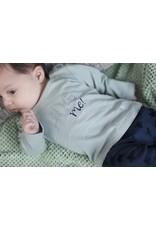 "Little Bampidano Bampidano-New Born Trousers Plain-""Navy"""