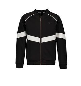 "Bellaire Bellaire-Arno Full Zip Tech Sweat Jacket-""Jet Black"""