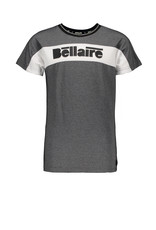 "Bellaire Bellaire-Karsty Pique T-Shirt-""Jet Black"""