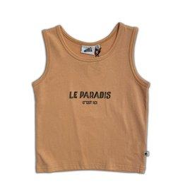 Cos I Said So Cos I Said So Le Paradis C'est Ici Tank Top Peach