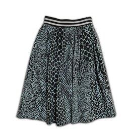 Cos I Said So Cos I Said So Skirt Snake Print Tourmaline