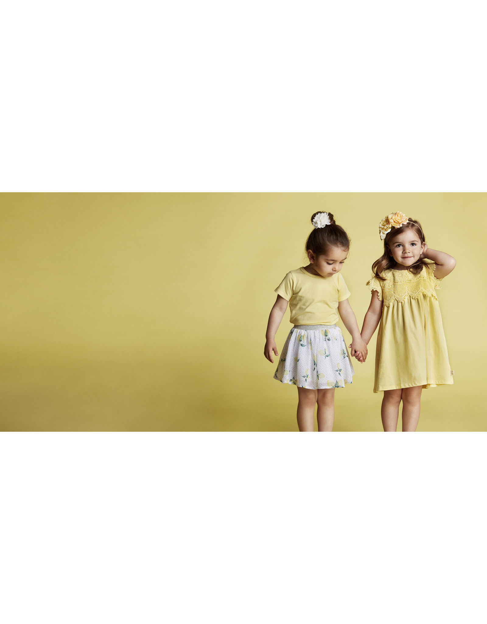 "Creamie Creamie-Dress Lace-""Popcorn"""