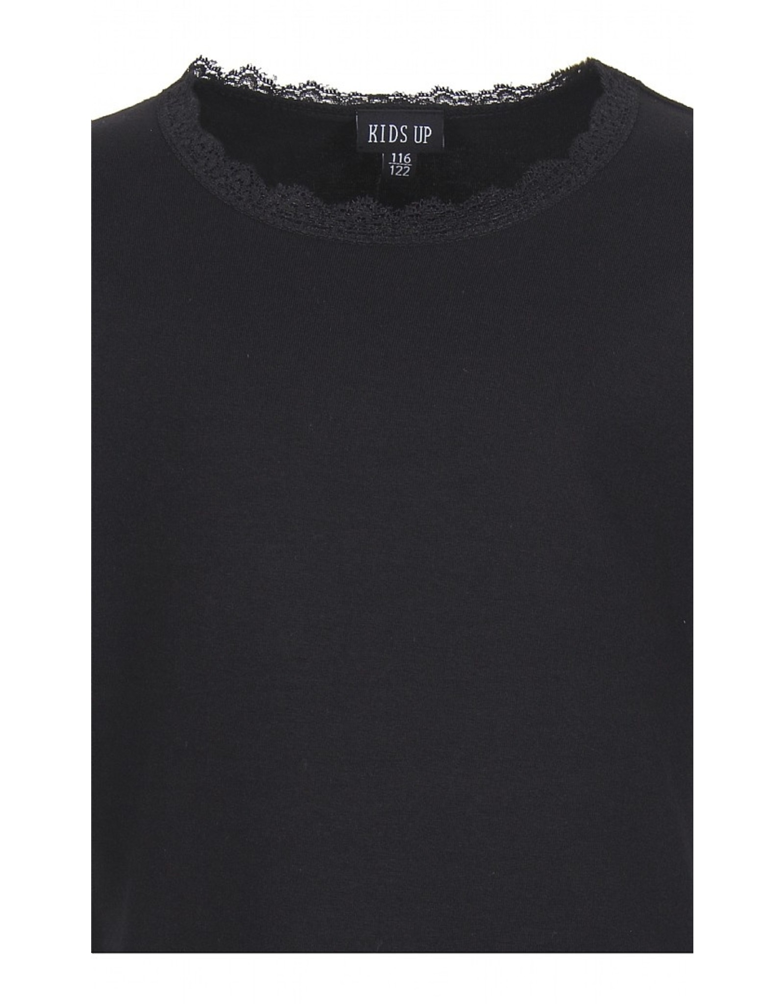 KIDS UP Kids-Up- T-Shirt S/S- Black
