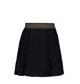 Like Flo Like Flo Girls Lace Skirt Navy