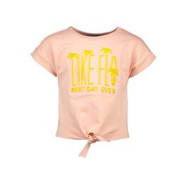 Like Flo Like Flo Girls Knotted Sweater LIKE FLO Light Pink