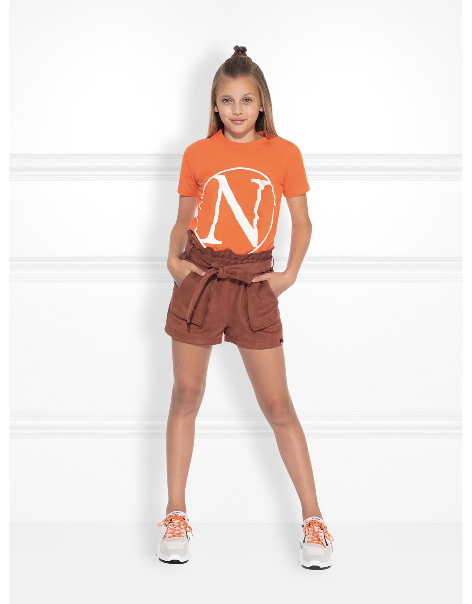 Nik&Nik NIK&NIK Kim N T-shirt Pumkin Orange
