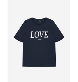 Nik&Nik NIK&NIK Lora Love T-shirt Royal Blue