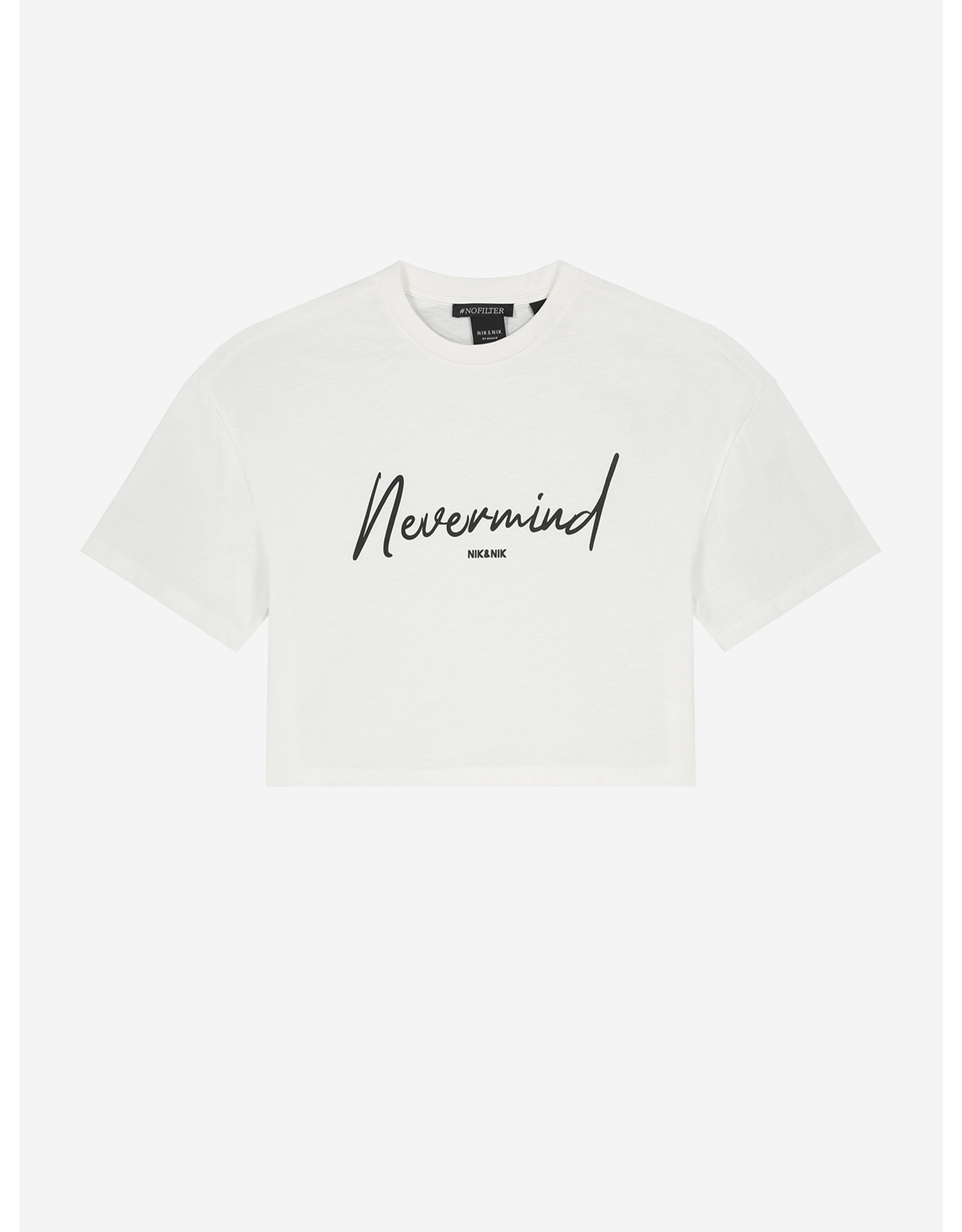 Nik&Nik NIK&NIK Nevermind T-shirt Off White mt 116