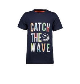 """TYGO & Vito TYGO & Vito T-shirt """"Catch the wave"""" NAVY"""