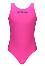 "Super Rebel Super Rebel-Girls Bathing suit - ""Sugar Pink"""