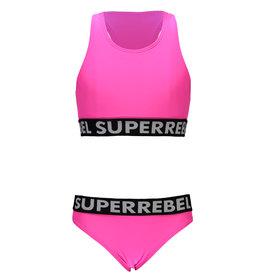 """Super Rebel Super Rebel-Bikini+Short - """"Sugar Pink"""""""