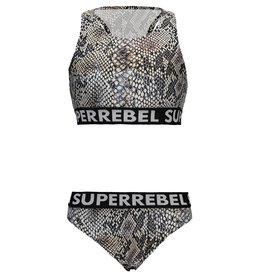 "Super Rebel Super Rebel-Bikini+Short-""Natural Snake"""