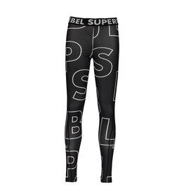 """Super Rebel Super Rebel-Sport Running Pants-""""Tekst Black"""""""