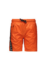 "Super Rebel Super Rebel-Boys Swim Short Plain-""Neon Orange"""