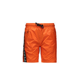 "Super Rebel Super Rebel-Boys Swim Short Plain-""Neon Orange"""